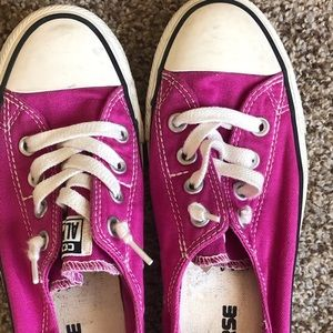 Converse ALL STAR Tennis Shoes PINK Size 7